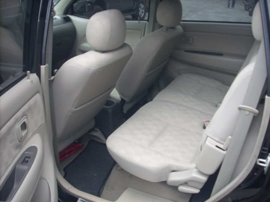2009 Toyota Avanza - Interior Rear View