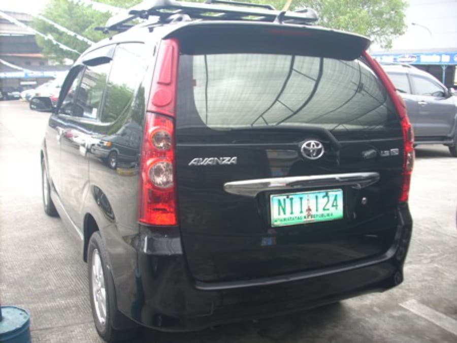 2009 Toyota Avanza - Rear View