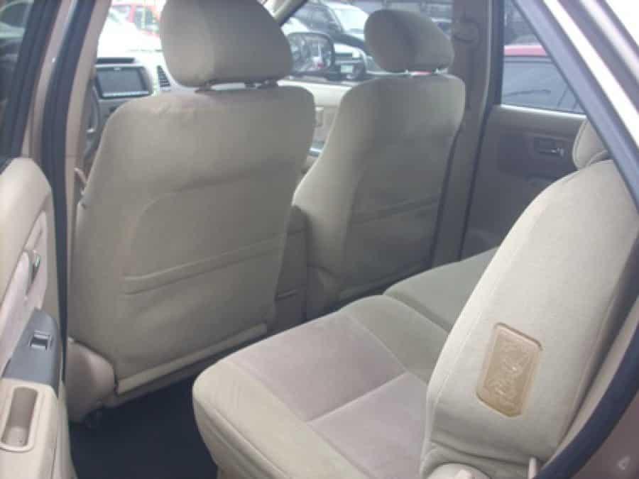 2006 Toyota Fortuner - Interior Rear View