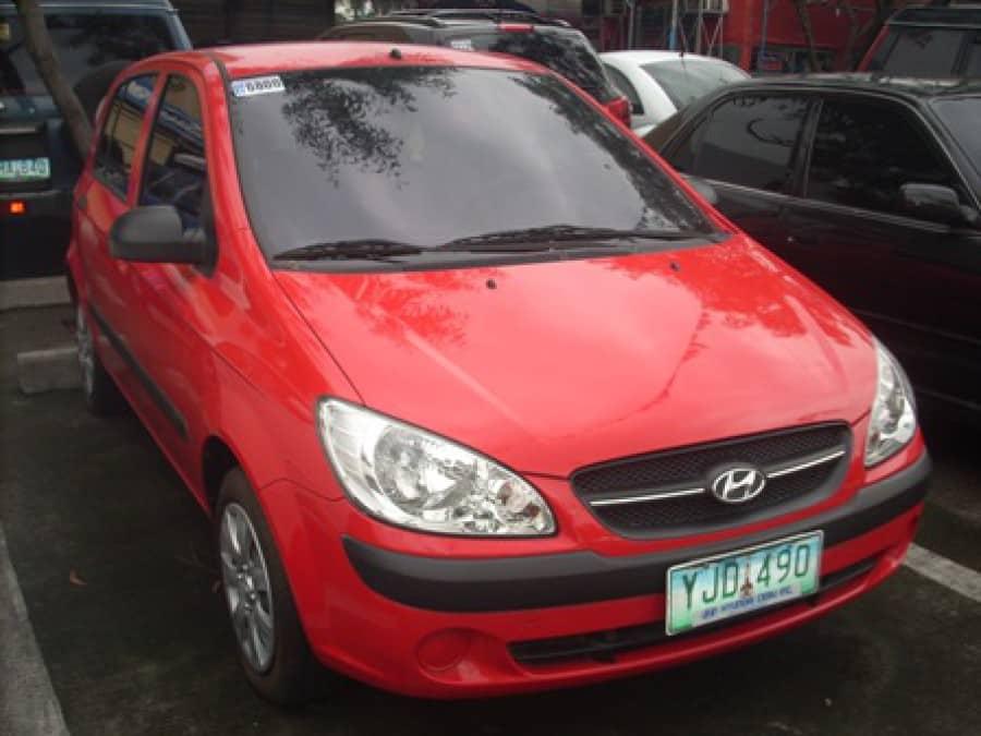 2009 Hyundai Getz - Front View