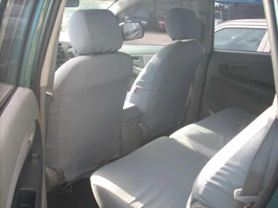 2009 Toyota Innova E - Interior Rear View
