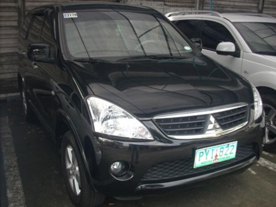 2010 Mitsubishi Fuzion - Interior Front View