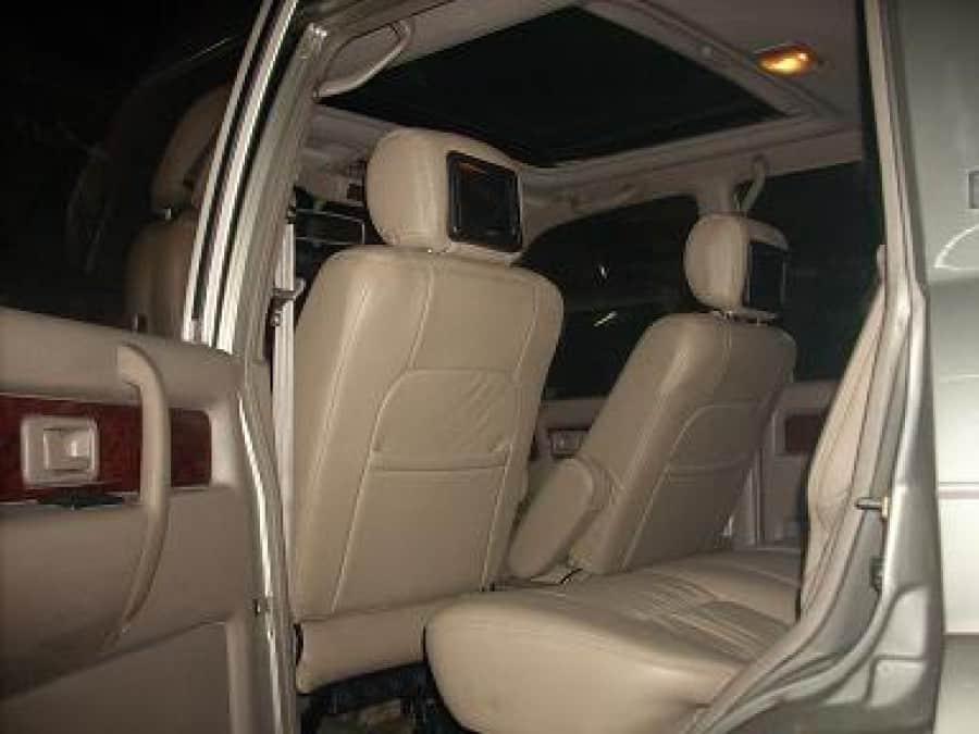 2003 Isuzu Trooper - Interior Rear View