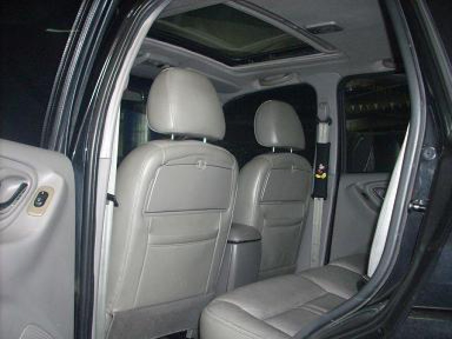 2006 Mazda Tribute - Interior Rear View
