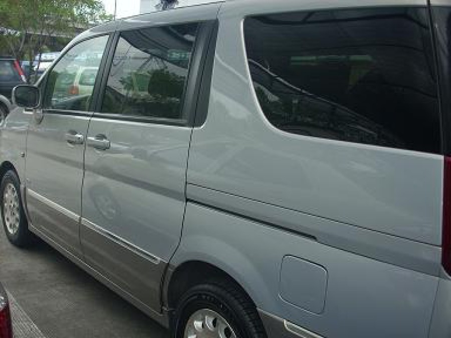 2003 Nissan Serena - Rear View