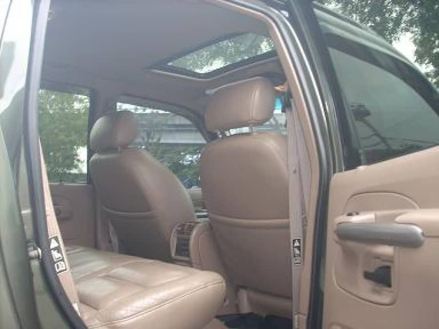 2001 Ford Explorer Sport Trac - Interior Rear View