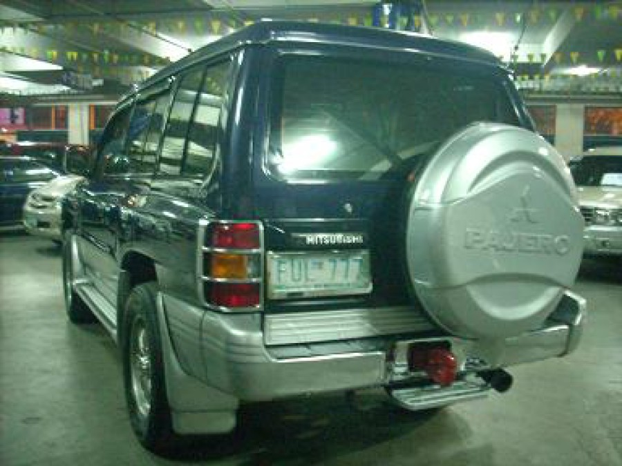 2002 Mitsubishi Pajero - Rear View