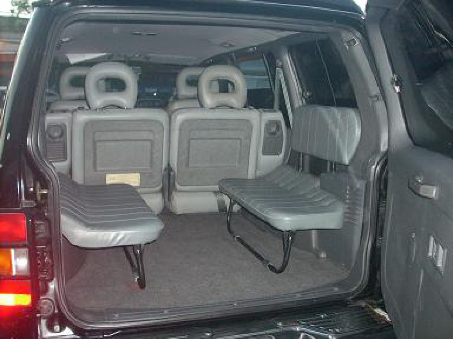 2001 Mitsubishi Pajero - Interior Rear View