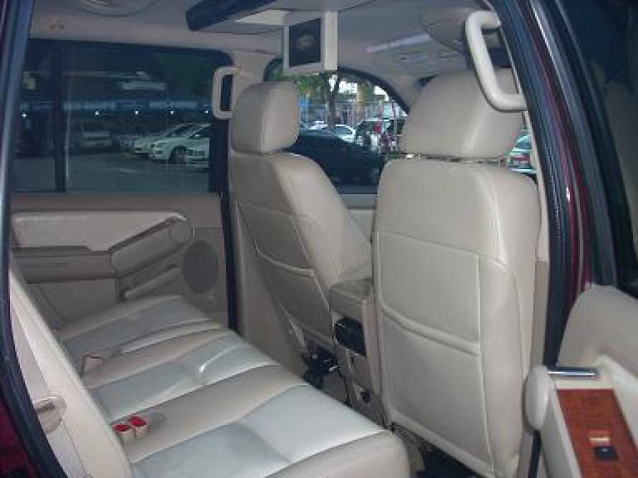 2008 Ford Explorer - Interior Rear View