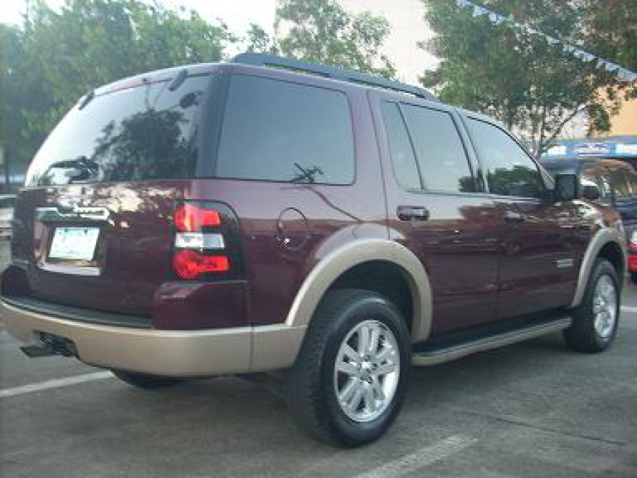 2008 Ford Explorer - Rear View