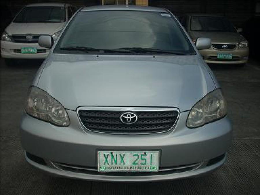2004 Toyota Corolla Altis J - Front View