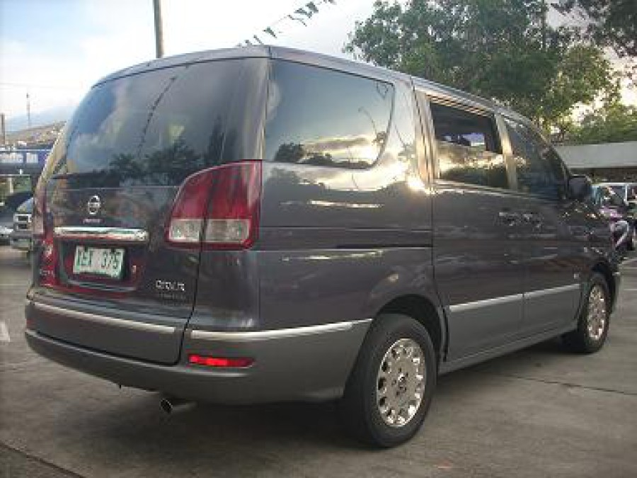 2002 Nissan Serena - Rear View