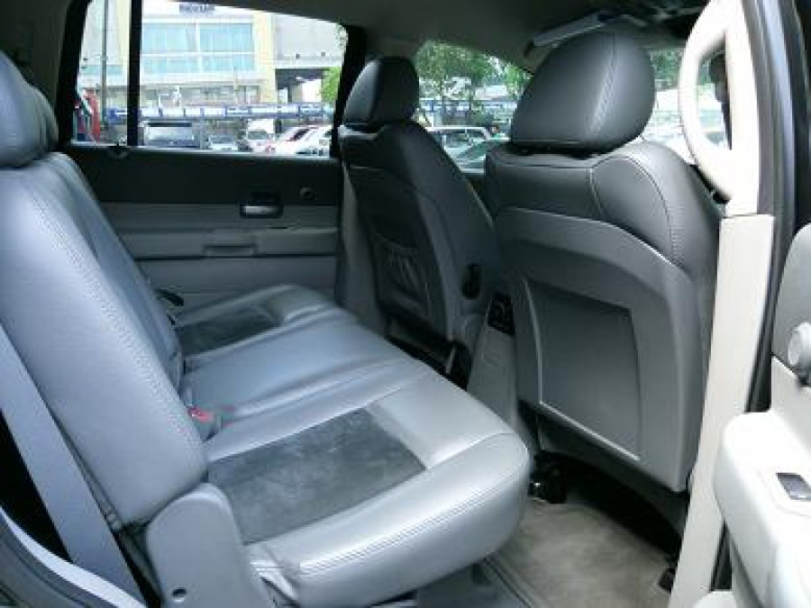 2008 Dodge Durango - Interior Rear View