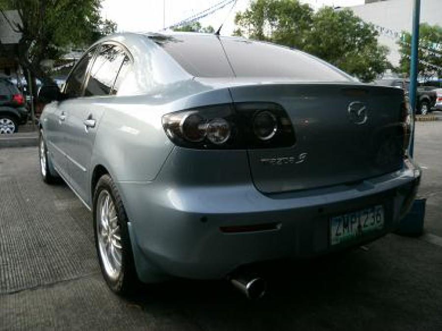 2008 Mazda 3 - Rear View