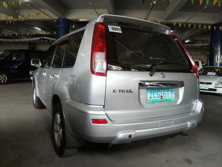 2006 Nissan X-Trail - Rear View
