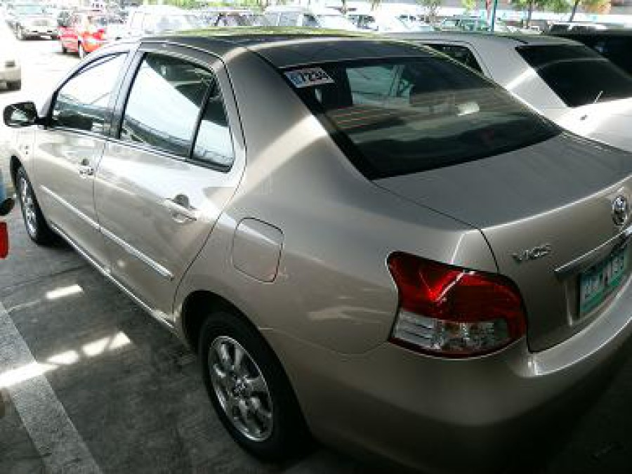 2008 Toyota Vios - Rear View