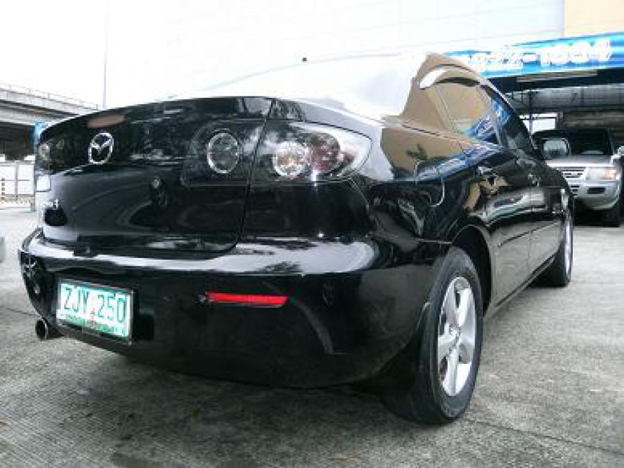 2007 Mazda 3 - Rear View