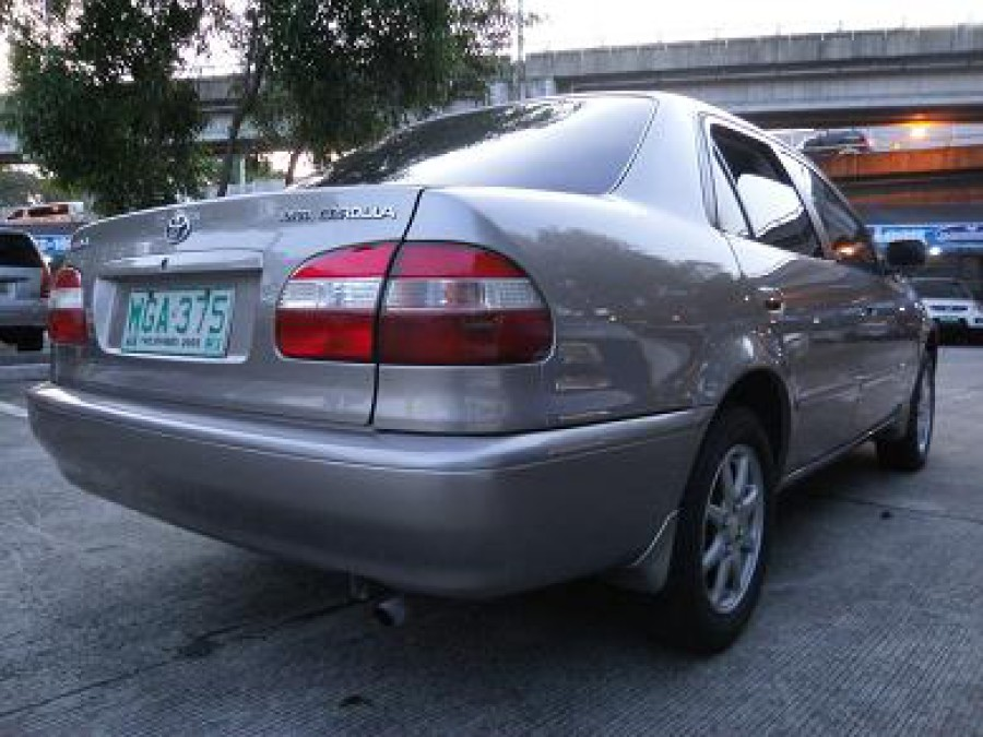 1999 Toyota Corolla - Rear View