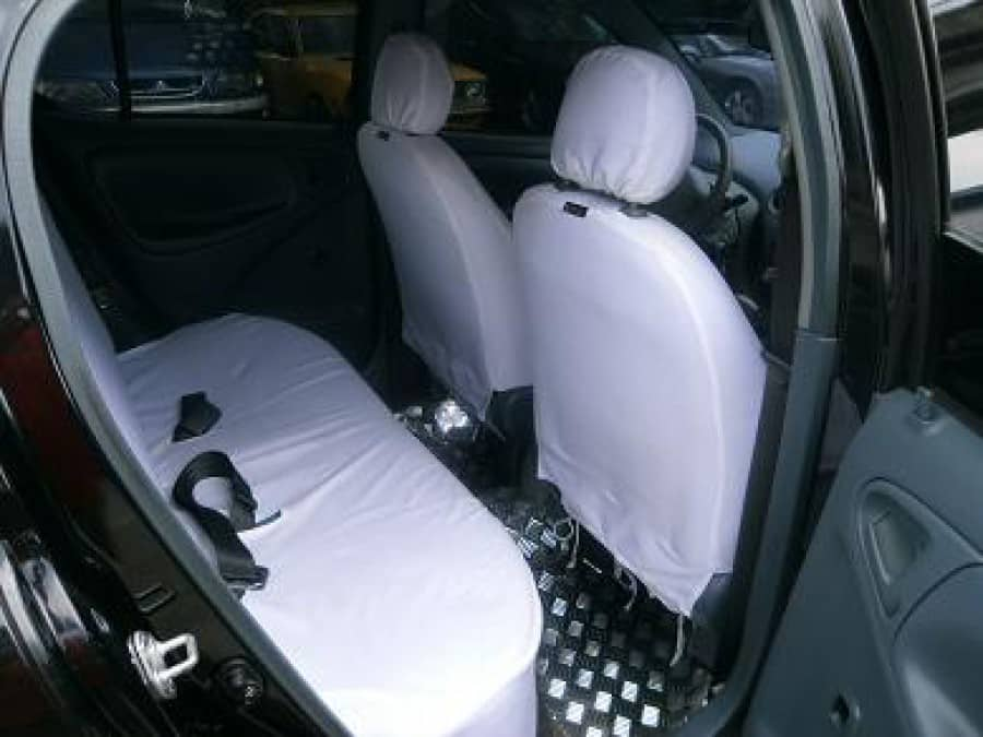 2000 Toyota Echo - Interior Rear View