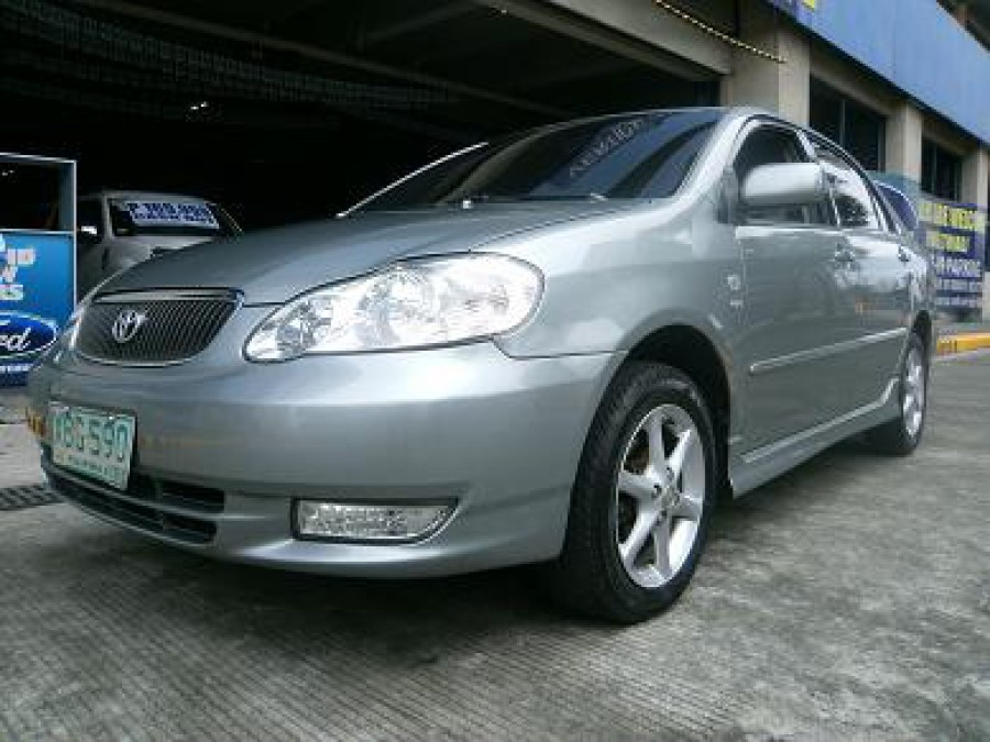 2001 Toyota Corolla Altis G - Front View