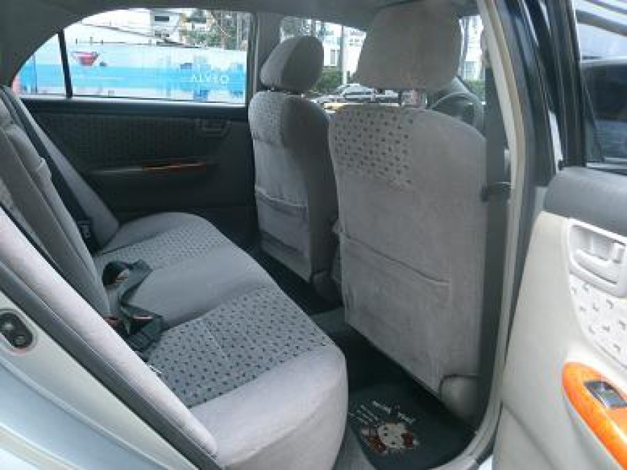 2001 Toyota Corolla Altis G - Interior Rear View