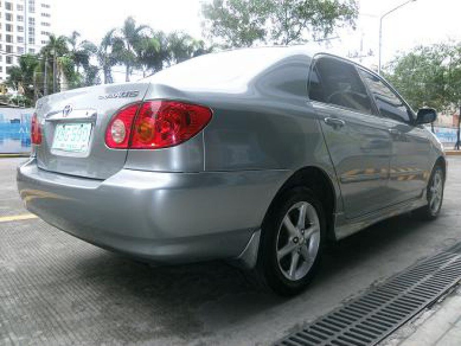 2001 Toyota Corolla Altis G - Rear View