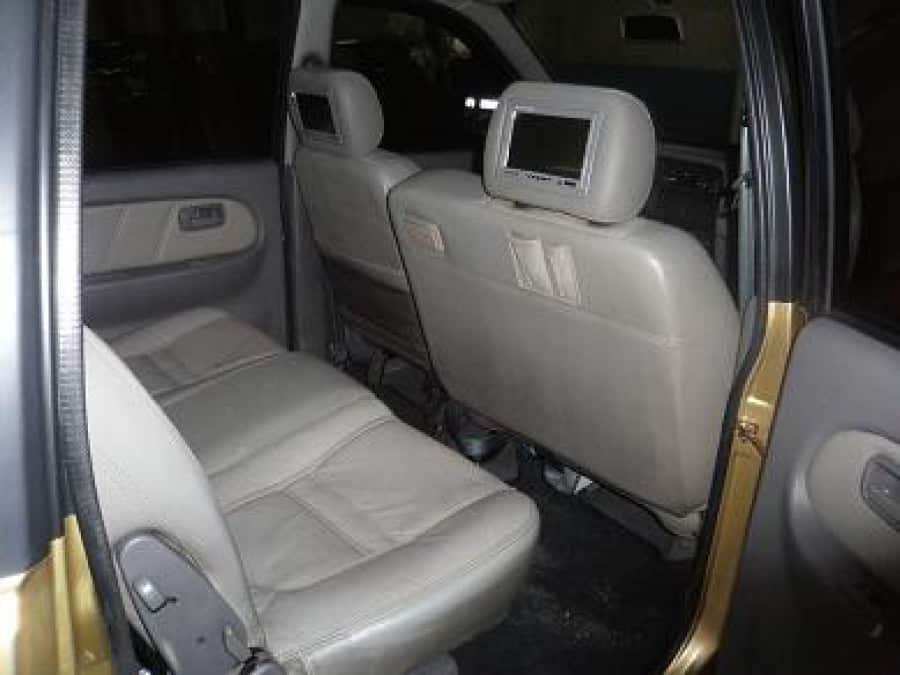 2003 Isuzu Crosswind - Interior Rear View