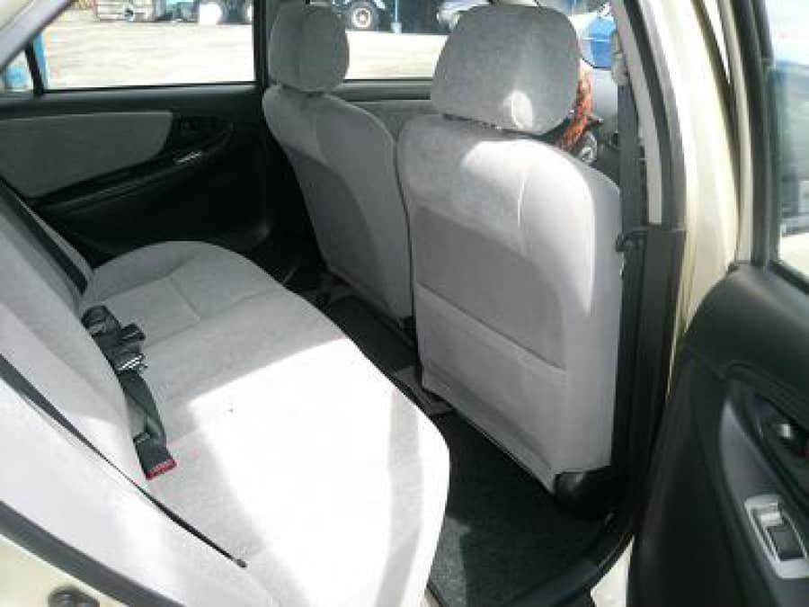2003 Toyota Vios - Interior Rear View