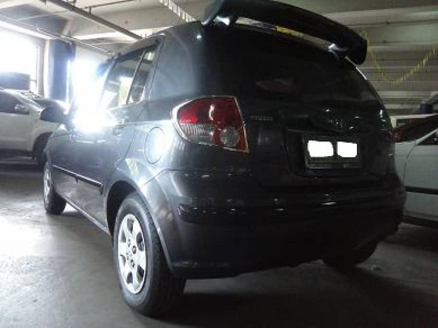 2005 Hyundai Getz - Rear View