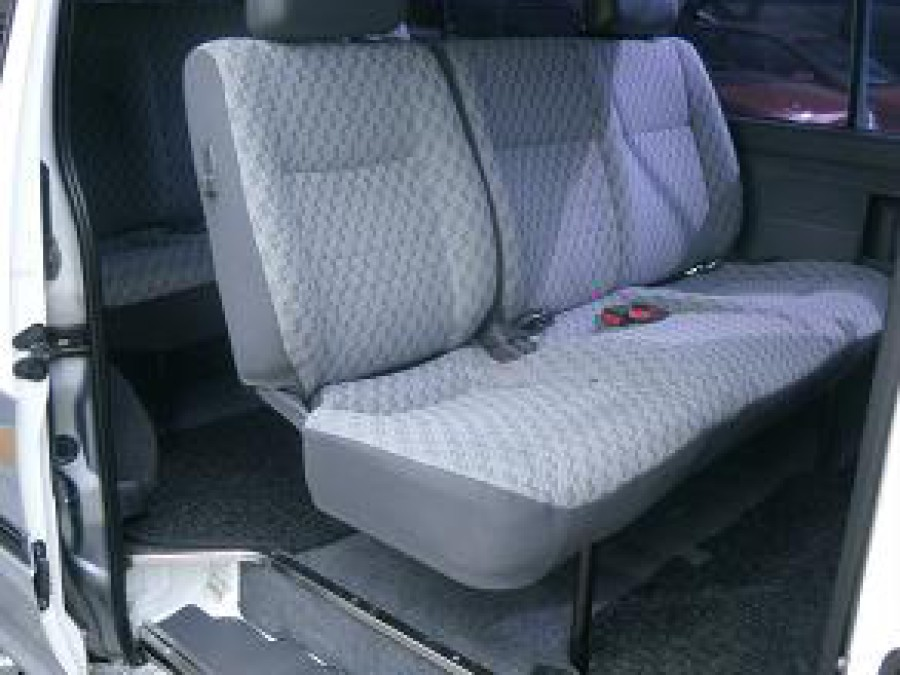 2000 Toyota HiAce - Interior Rear View