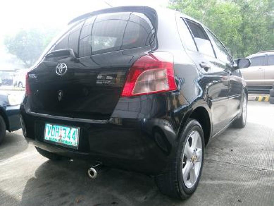2007 Toyota Yaris - Rear View