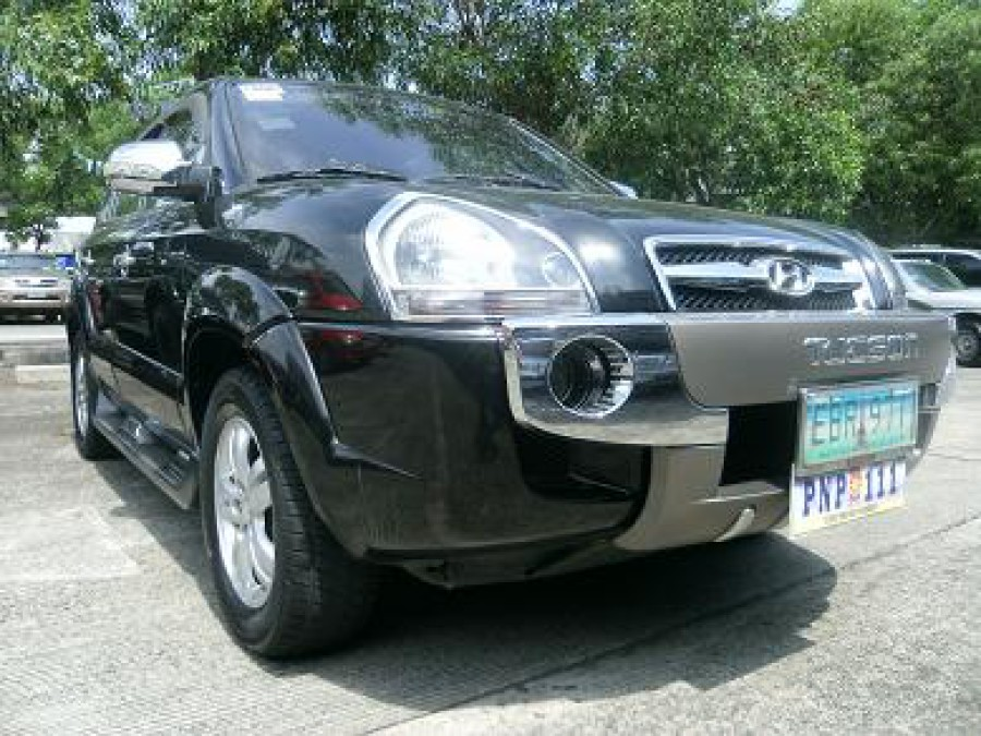 2008 Hyundai Tucson - Front View