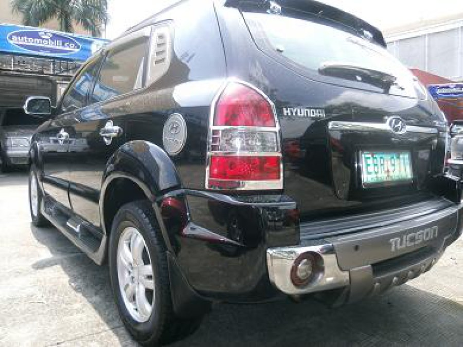 2008 Hyundai Tucson - Rear View