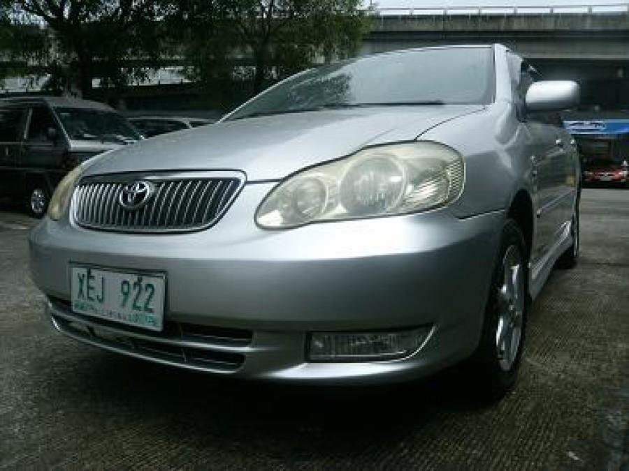 2002 Toyota Altis - Front View