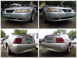2000 Ford Mustang - Front View