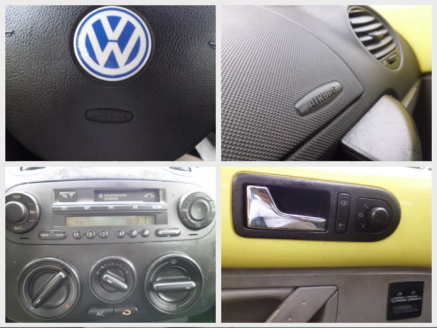 2000 Volkswagen Beetle - Interior Rear View