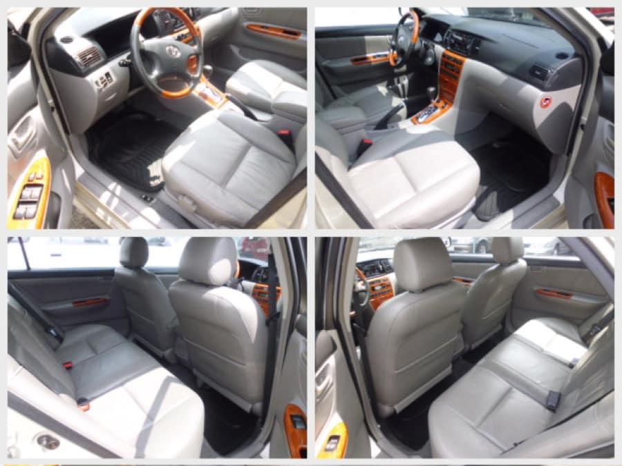 2004 Toyota Corolla Altis G - Interior Front View