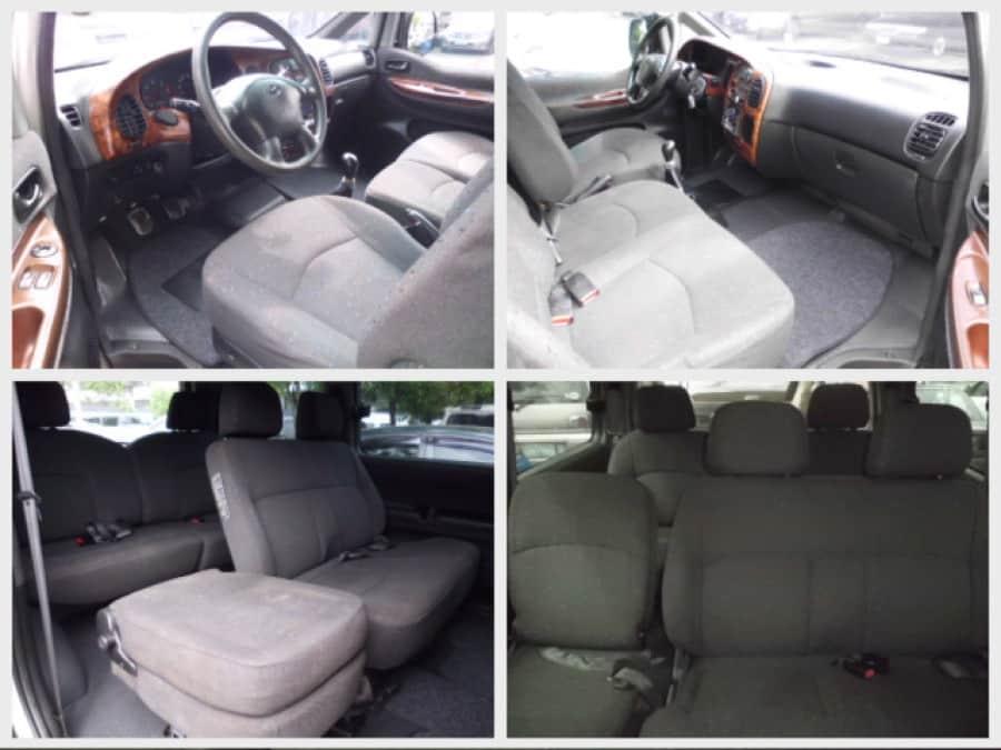 2001 Hyundai Starex - Interior Front View