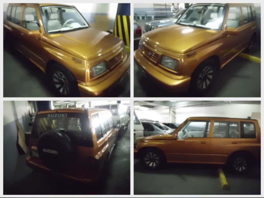 1996 Suzuki Vitara - Front View