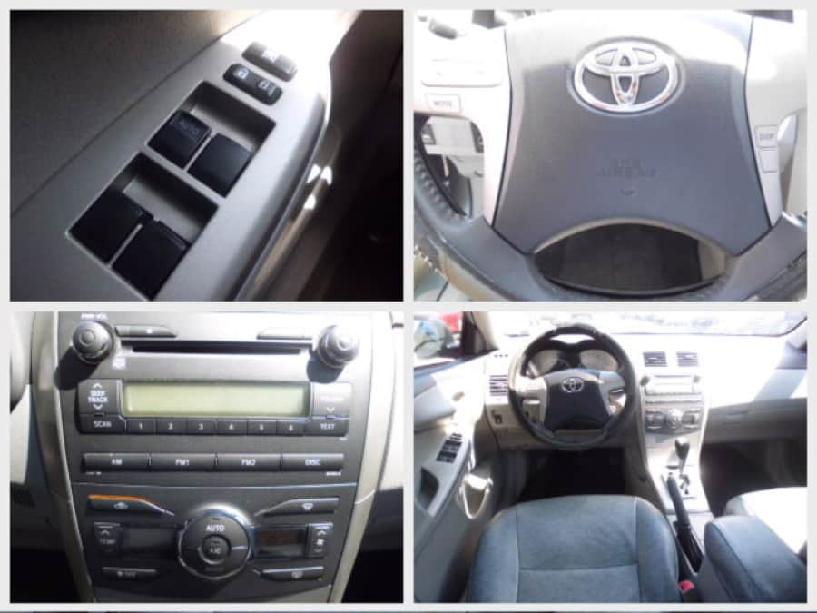2009 Toyota Corolla Altis G - Interior Rear View