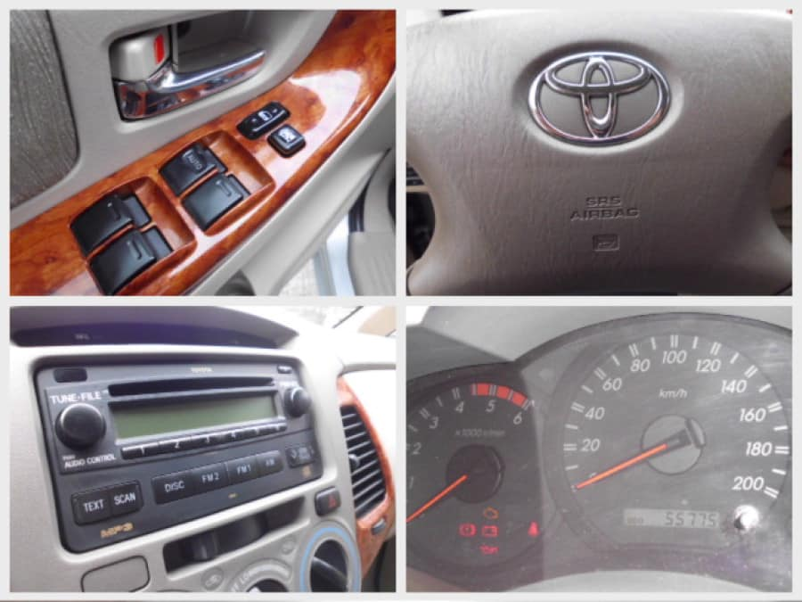 2007 Toyota Innova G - Interior Rear View