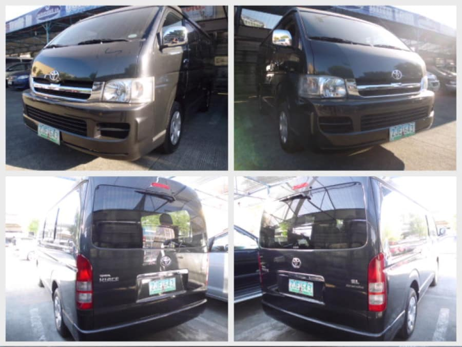 2007 Toyota HiAce - Front View