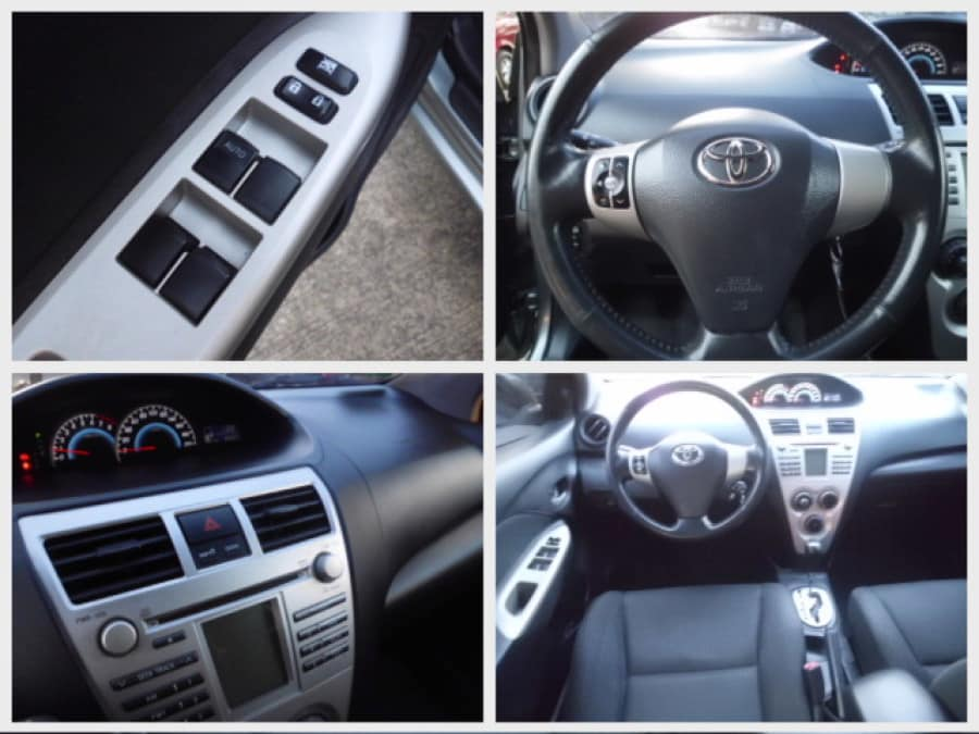 2009 Toyota Vios - Interior Rear View