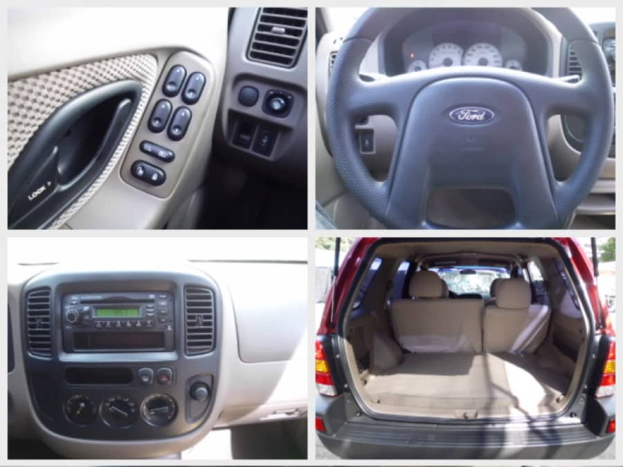 2002 Ford Escape - Interior Rear View