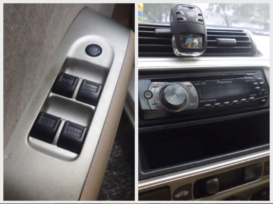 2005 Honda City - Interior Rear View