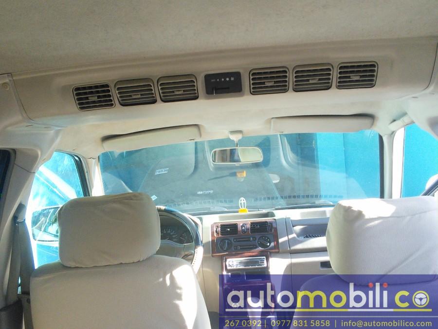 2005 Mitsubishi Adventure - Interior Rear View