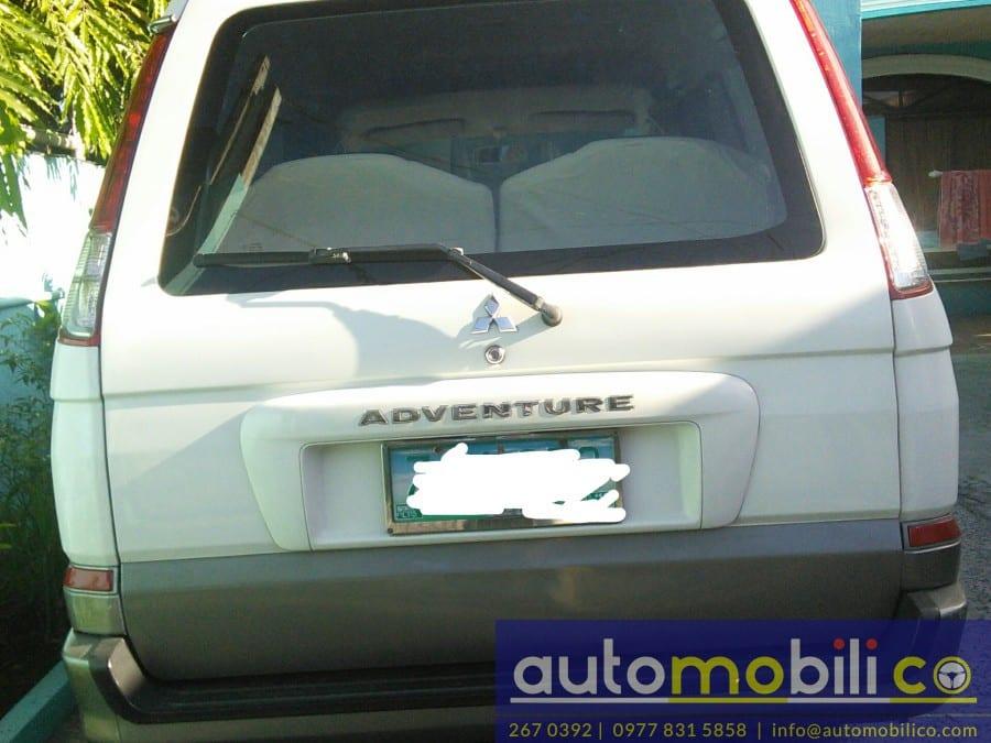 2005 Mitsubishi Adventure - Rear View