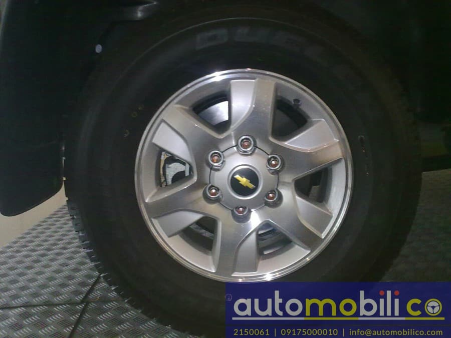 2016 Chevrolet Trailblazer - Interior Rear View