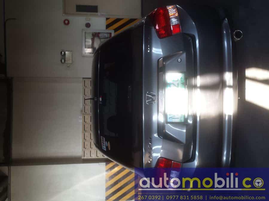 2009 Honda City E - Rear View