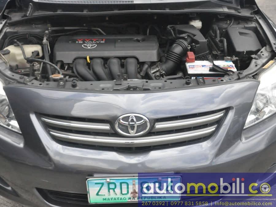 2008 Toyota Altis - Interior Rear View